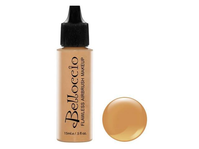 Belloccio Pro Airbrush Makeup CAPPUCCINO SHADE FOUNDATION Flawless Face Cosmetic