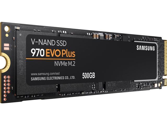 SAMSUNG 970 EVO PLUS 500GB Internal Solid State Drive (SSD) MZ-V7S500B/AM -  Newegg com