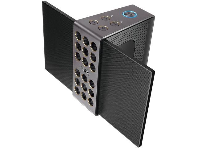 BenQ - 9H H0KAM A01 - BenQ treVolo Speaker System - Portable - Battery  Rechargeable - Wireless Speaker(s) - Black - 60 - Newegg com