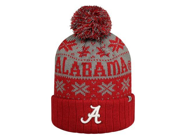 separation shoes dfe22 28253 ... italy subarctic knitted alabama crimson tide bama hat with pom c5a65  e28ca