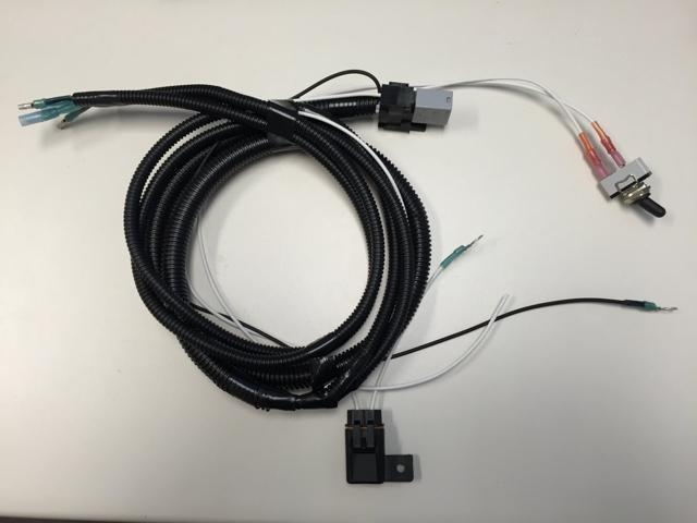 Yamaha 74042 Dual Lamp Motorcycle OEM Wiring Harness with Switch - on
