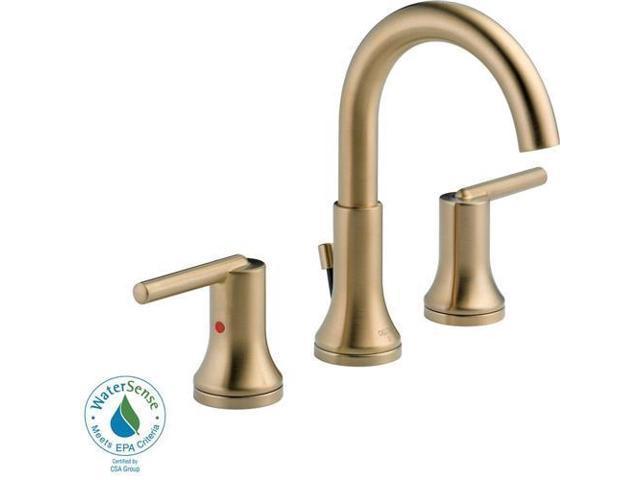 Delta Porter 8 In Widespread 2 Handle Bathroom Faucet In: Delta 3559-CZMPU-DST Trinsic 8 In. Widespread 2-Handle