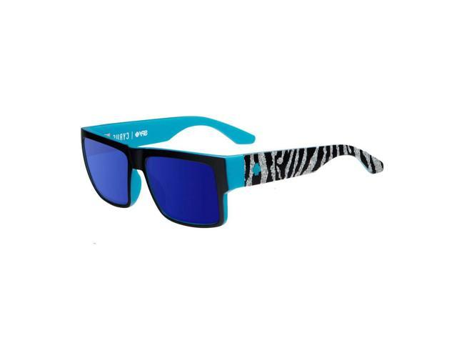 874f75c76e8 Spy Optic 673180781317 Cyrus Decoy Happy Sunglasses Bronze Dark Blue Spectra