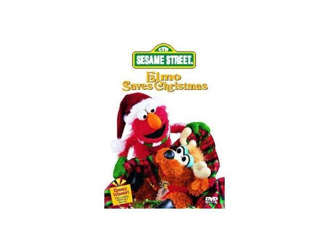 sesame s elmo saves christmas dvd - Sesame Street Elmo Saves Christmas