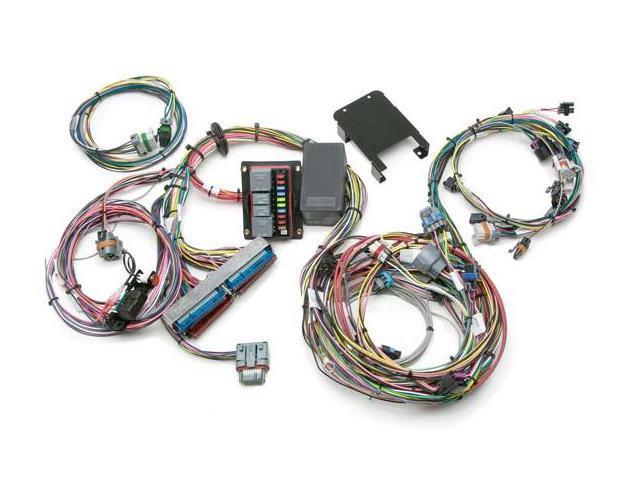 painless wiring harness toyota fj40 painless 60221 gen iii truck harness (4.8, 5.3, 6.0) std ...