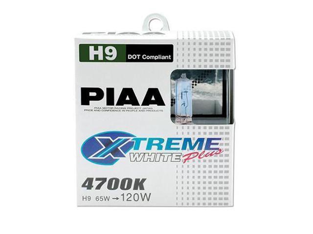 PIAA 19165 Xtreme White Plus 65W=120W H9 Bulb