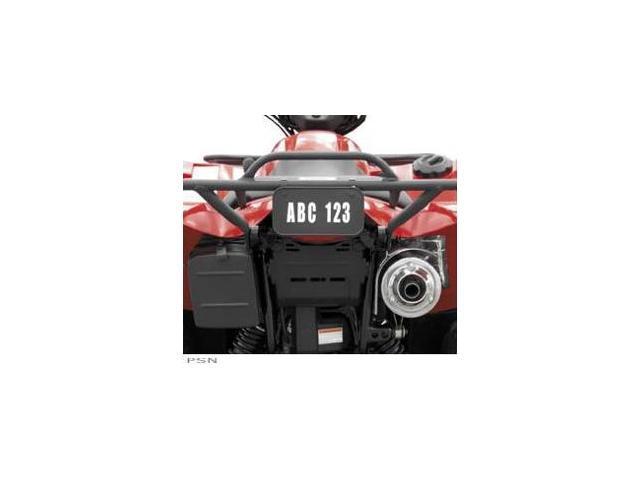QuadBoss ATV License/Registration Kit Black - Newegg com