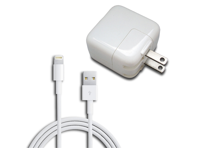 12w Ac Home Wall Charger 8 Pin Lightning Cable For Ipad Mini 4 Retina Air Iphone 5 5c 5s Newegg