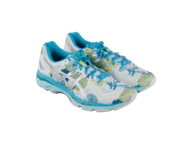 reputable site 2fd2c 8c116 Asics Gel Kayano 23 White Silver Aquarium Womens Athletic Running Shoes -  Newegg.com