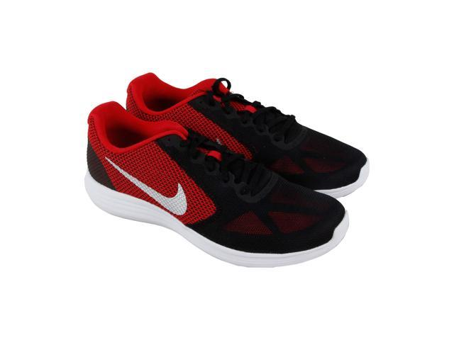 new style a4193 bfa7e Nike Revolution 3 Universityred Metallic Silver Mens Athletic Running Shoes  - Newegg.com
