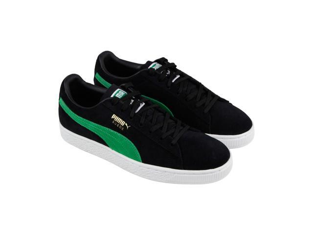 sale retailer c661d d871a Puma Suede Classic X Xlarge Black Kelly Green Mens Lace Up Sneakers -  Newegg.com