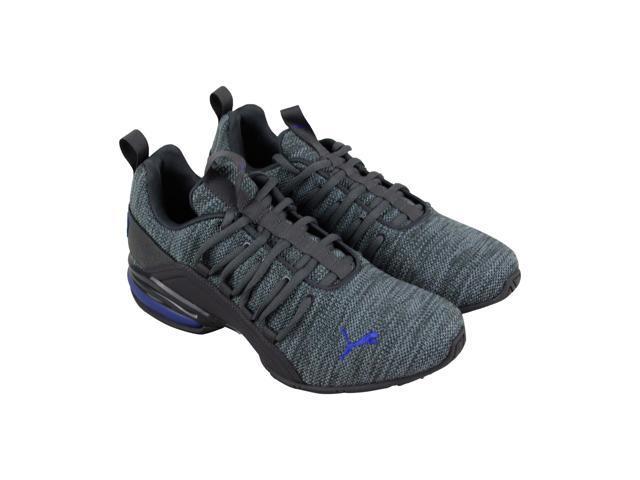 7eb72e67c6d Puma Axelion Asphalt Quarry Sodalite Blue Mens Athletic Training Shoes