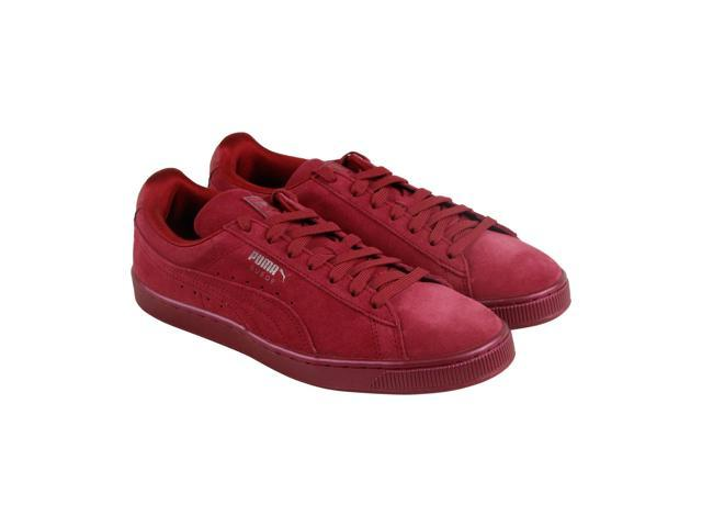 f2eb06a705f0 Puma Suede Classic Anodized Tibetan Red Mens Lace Up Sneakers ...