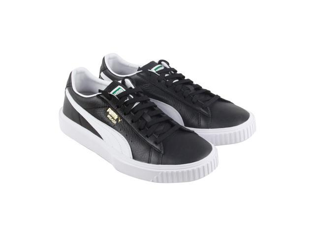 26abb14d088 Puma Breaker Puma Black Puma White Mens Lace Up Sneakers - Newegg.com