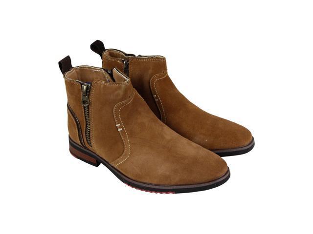 check out 11957 6eef6 Steve Madden P-Nano Tan Suede Mens Casual Dress Boots - Newegg.com