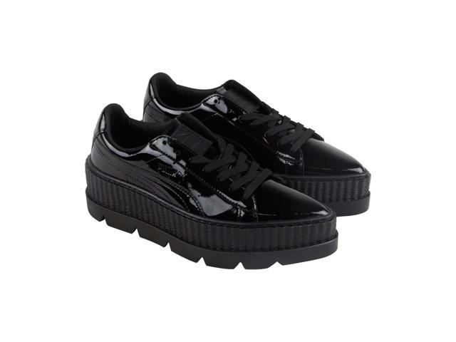 reputable site 87331 ce480 Puma Pointy Creeper Patent Wns Puma Black Womens Lace Up Sneakers -  Newegg.com