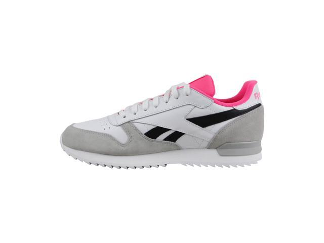 Reebok Classic Leather Ripple Herren Schuhe White Solar