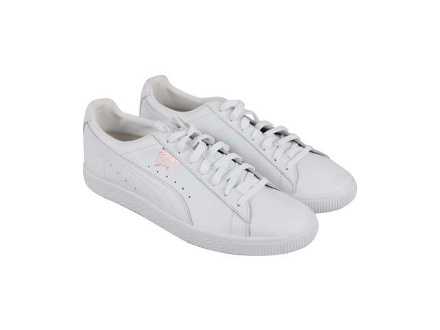 Puma Clyde X Emory Jones White Mens Lace Up Sneakers