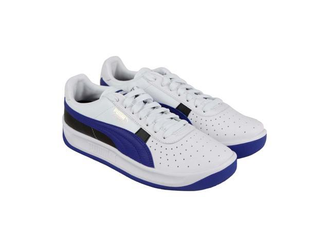 pretty nice 1c609 be1f2 Puma GV Special + Color Block White Team Gold Sodalite Blue Mens Low Top  Sneakers - Newegg.com