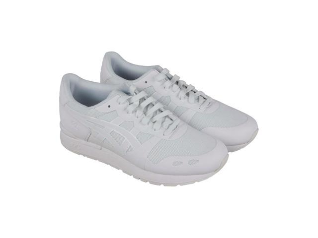 new style 67b01 95ece Asics Gel Lyte Ns White White Mens Sneakers Low Top Shoes - Newegg.com
