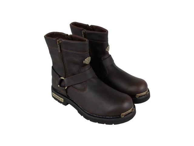 0b37ba5a559 Harley-Davidson Cromwell Brown Mens Motorcycle Boots - Newegg.com