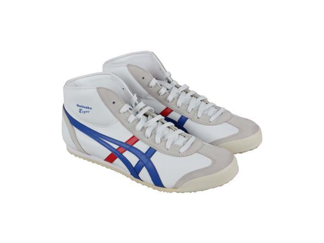 promo code a0039 e5259 Onitsuka Tiger Mexico Mid Runner White Daphne Mens Athletic Running Shoes -  Newegg.com