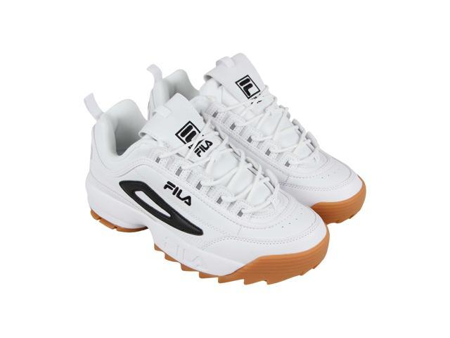 Fila Disruptor Ii Mens White Casual Low Top Sneakers Shoes 9