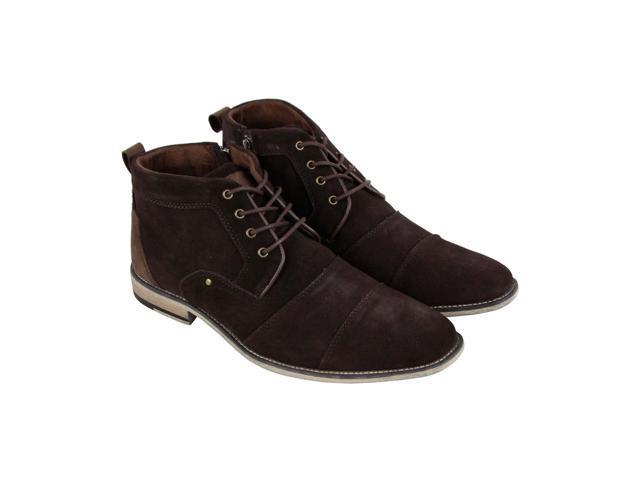 a3f86a8c7da Steve Madden Johnnie Brown Suede Mens Casual Dress Chukka Boots - Newegg.com
