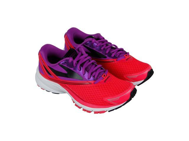 new style 80372 1b257 Brooks Launch 4 Purple Cactus Flower Diva Pink Black Womens Athletic  Running Shoes - Newegg.com