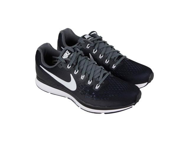 pick up a25c5 aece6 Nike Air Zoom Pegasus 34 Tb Black White Dark Grey Womens Athletic Running  Shoes - Newegg.com