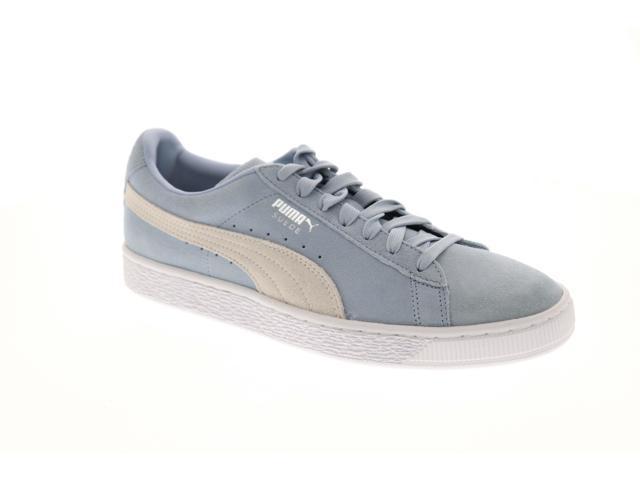 premium selection 5d2b2 417fc Puma Suede Classic + Blue Fog White Mens Low Top Sneakers - Newegg.com