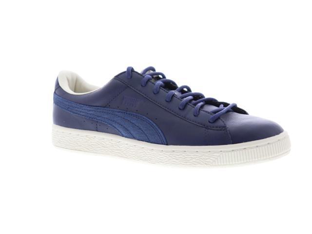 premium selection 357d0 21b98 Puma Basket Classic Citi Peacoat Mens Low Top Sneakers - Newegg.com