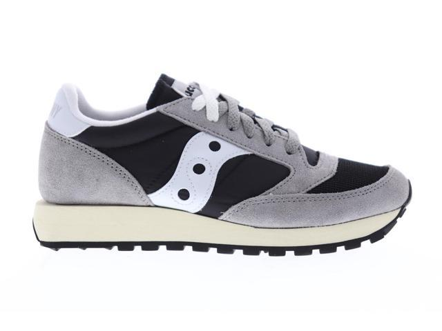 Saucony Jazz Original Vintage Womens Gray Casual Low