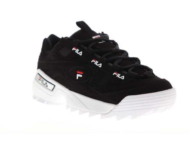 Fila D-Formation Black Red Navy Mens Low Top Sneakers - Newegg.com
