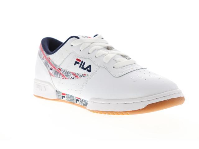 Fila Original Fitness Haze Mens White Leather Casual Low Top Sneakers Shoes