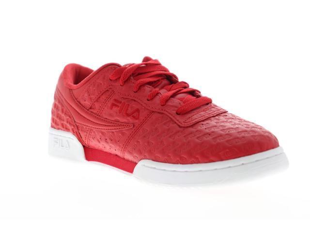 17b57914 Fila Original Fitness Small Logos Red Red White Mens Low Top Sneakers -  Newegg.com