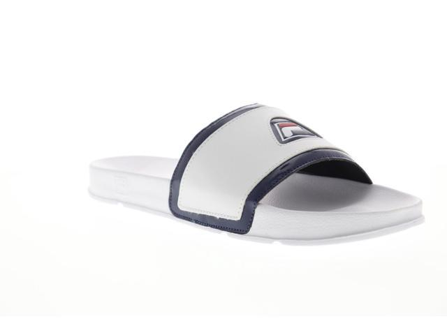 a0b84af443fc2 Fila Drifter 96 White Navy Red Mens Slides Sandals - Newegg.com