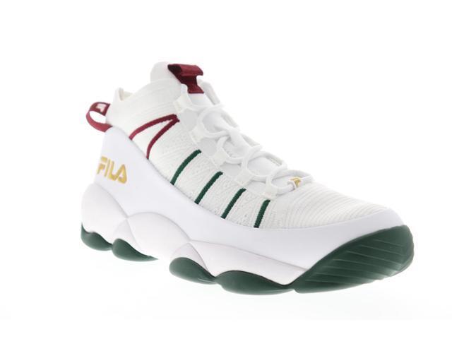 Fila Spaghetti Knit White Sycamore Biking Red Mens High Top Sneakers -  Newegg.com