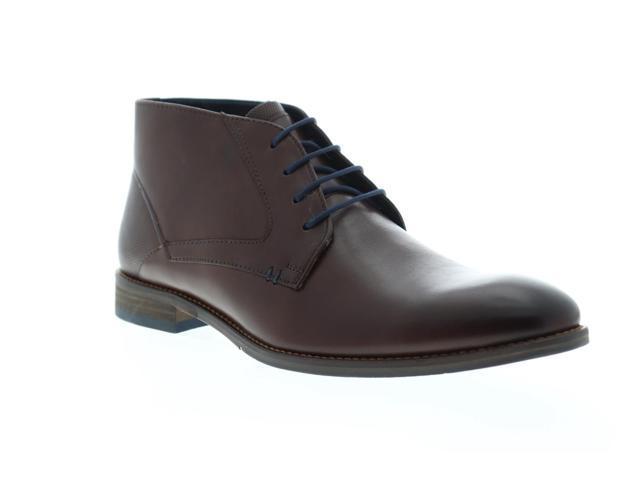 02d8def3bcc Steve Madden Noland Brown Leather Mens Casual Dress Chukka Boots -  Newegg.com