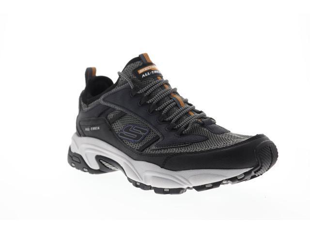 Skechers Stamina Berendo Mens Gray Casual Low Top Sneakers Shoes 10.5