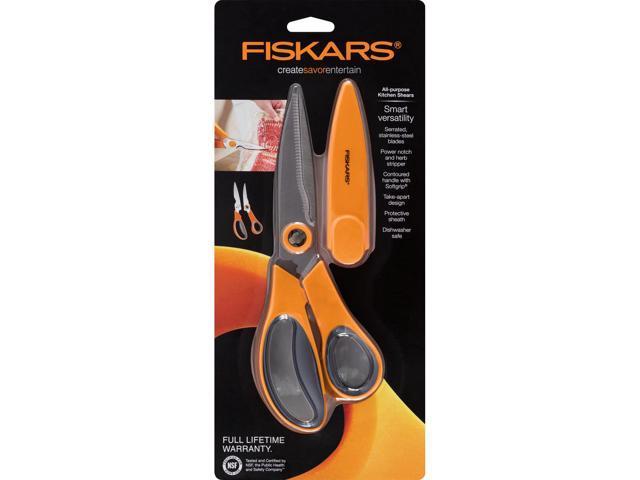 Fiskars 510041 1001 All Purpose Kitchen Shears Newegg Com