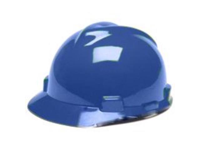 582623b9 V-Gard Hard Hats Staz-On Pin-Lock Suspension Size 6 1/2 - 8 Blue ...