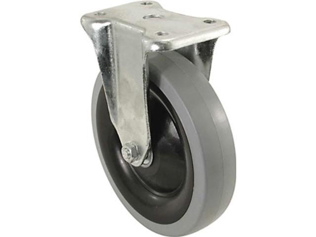 "5"" Rigid Tpr Wheel Caster SHEPHERD HARDWARE Casters 9740"