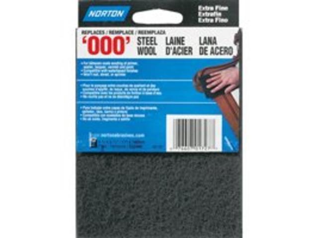 Grade 000 Extra Fine Pack Steel Wool 0371443 16 New Homax 106601-06 Pack