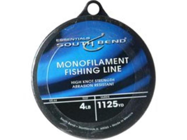 South Bend M144 Monofilament Clear Fishing Line - 4lb Test x 1,125 ...
