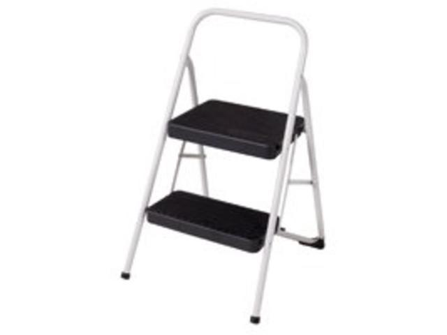 Admirable 2 Step Folding Stool Cosco Products Utility Folding Step Stool 11135Clgg4 Squirreltailoven Fun Painted Chair Ideas Images Squirreltailovenorg