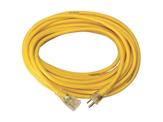 Woods 2805 50-foot Yellow Jacket 3-Conductor 10-Gauge Power Cord ...
