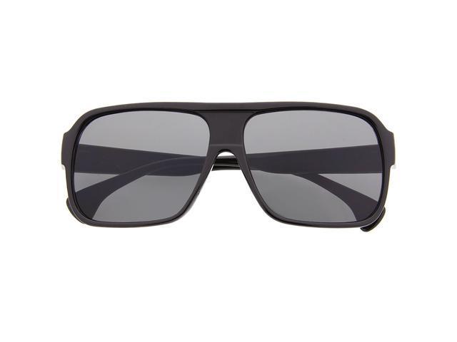 79713a830 Men's Plastic Square Flat Top Aviator Sunglasses Sunnies Retro Celebrity  Black