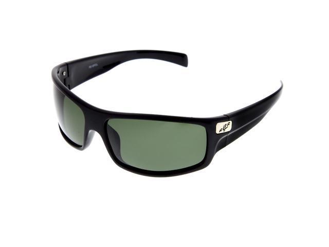 8cb1c10e9921 Men s Sports Wrap Around Polarized Sunglasses Driving Sport Modern Black  Green