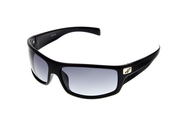 4b274467533d Men s Sports Wrap Around Polarized Sunglasses Driving Sport Mod Black  Gradient